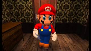 Mario plays Ao Oni (PewDiePie Parody)