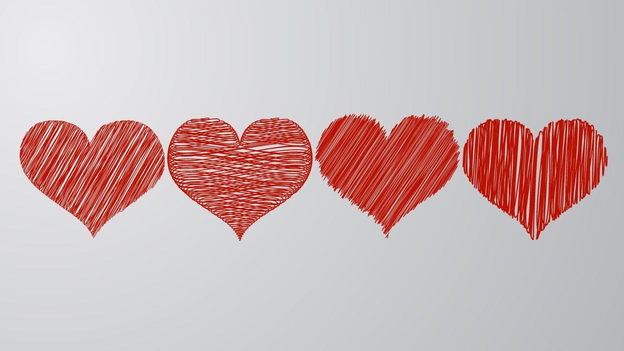 how to make heart illustrator