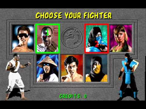 Mortal Kombat snes Character select theme