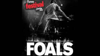 Foals - Total Life Forever (Live at iTunes Festival)
