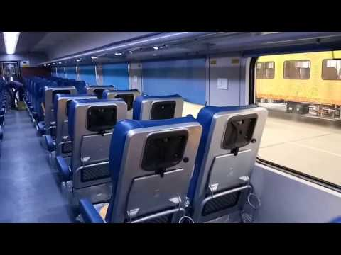 Tejas Express: Inside view of Brand New luxury train of Indian Railway