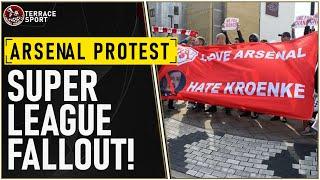 ARSENAL PROTEST | #KroenkeOut  | ARSENAL NEWS SUPER LEAGUE | Reaction Video
