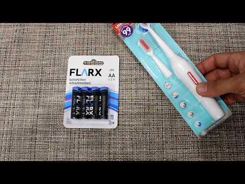 Электрическая зубная щетка из Fix Price за 99 рублей обзор тестирование