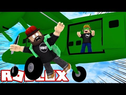 SKYDIVING WITH MY DAD in ROBLOX ROBLOXIAN HIGHSCHOOL