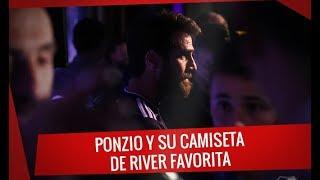 Ponzio y su camiseta favorita de River - Presentación de la camiseta alternativa
