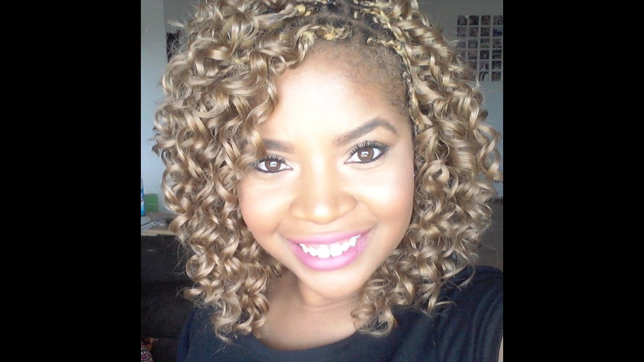 Protective Style Single Braids With Freetress Gogo Curl