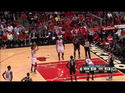 NBA Playoffs, 1st Round, game 6: Marco Belinelli vs Brooklyn Nets / May 2nd, 2013