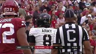 20180922 FB OKLAHOMA vs ARMY