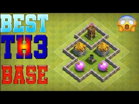 Clash Of Clans Best Town Hall 3 [TH3] Base Design - #1