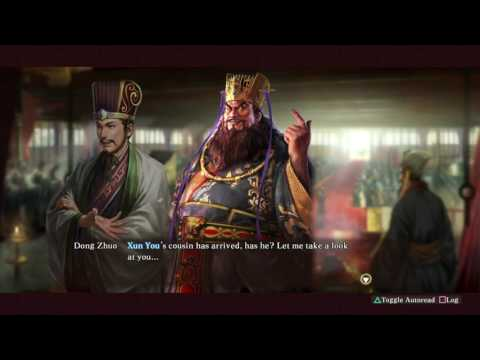 Xun Yu Joins the Han Custom Event - Romance of the Three Kingdoms XIII PUK
