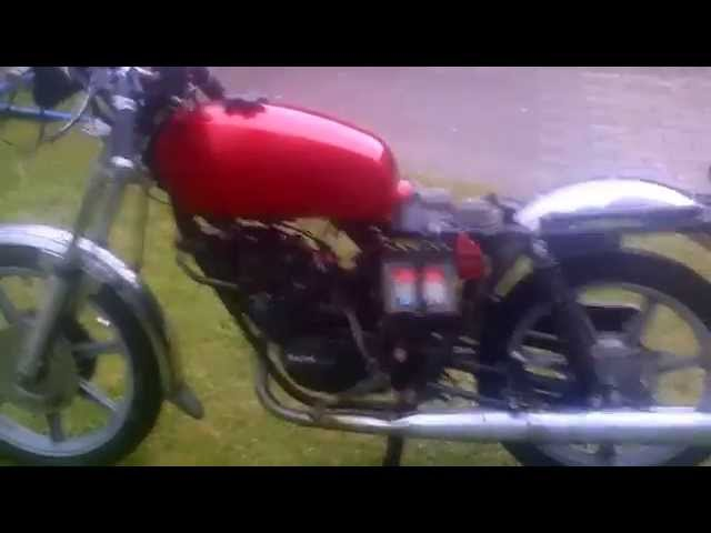 Testlauf Rixe RS 80 mit Sachs 80 Motor
