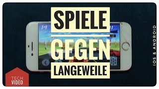 SPIELE-Apps gegen LANGWEILE (iOS & Android) - App Review