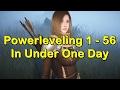 Powerleveling to Level 56 in Under 1 Day in Black Desert Online (BDO)