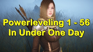 Powerleveling to Level 56 in Under 1 Day in Black Desert Online (BDO)