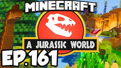 Jurassic World: Minecraft Modded Survival Ep.161 - BREED ICE DINOSAURS, NEW WINGS!! (Dinosaurs Mods)