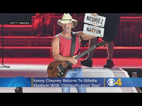 Michael J. - Kenny Chesney just released his 2020 plans, a stadium tour on These Dates!