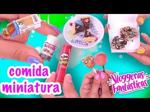 comida-en-miniatura-nutella,-cupcakes,-donas-y-más!---conny---vloggeras-fantasticas