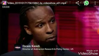 BBC World News Hardtalk Ibram Kendi Director Of Antiracism Research Speaking