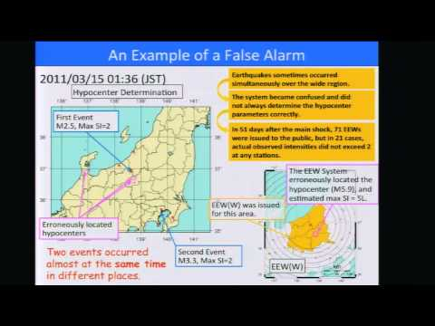 Masaki Nakamura - The Earthquake Early Warning of the Japan Meterological Agency