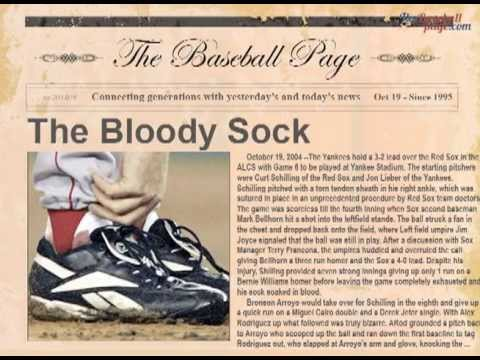 Image result for curt schilling bloody sock