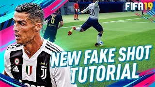FIFA 19 OPEN UP FAKE SHOT TUTORIAL! THE BEST NEW SKILL MOVE IN ULTIMATE TEAM!
