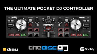 Using the Numark DJ2GO2 Touch with Algoriddim DJAY