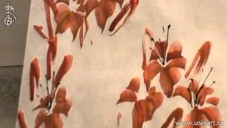 Обучение рисования Лилейника при помощи живописи у-син. Урок 7(В этом видео преподаватель китайской живописи и живописи у-син Андрей Щербаков рассказывает о том, как..., 2015-05-08T14:49:15.000Z)