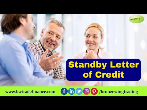 Standby Letter of Credit - SBLC - MT 760 | Bronze Wing Trading L.L.C.