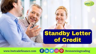 Standby Letter of Credit - SBLC - MT 760   Bronze Wing Trading L.L.C.