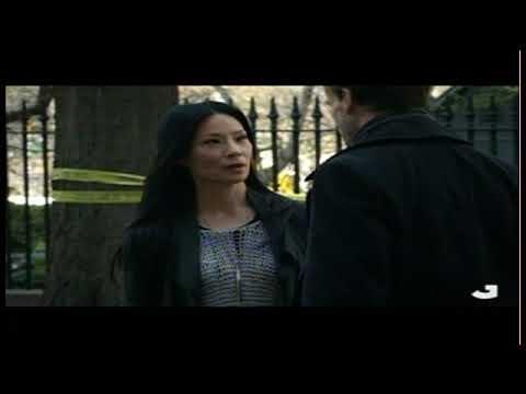 Elementary S1E1-Sherlock and Watson meet