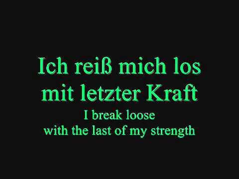 Eisbrecher   Vergissmeinnicht Lyrics and English Translations