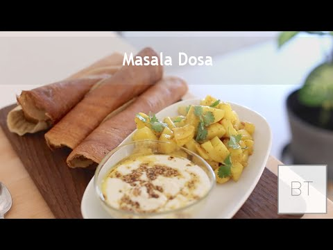 Masala Dosa - Vegan & Gluten Free