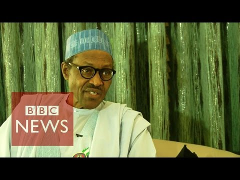 Boko Haram militants 'technically defeated' Nigeria's President Muhammadu Buhari - BBC News