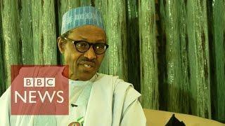 Boko Haram militants 'technically defeated' Nigeria's President Muhammadu Buhari - BBC News