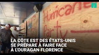 Les Etats-Unis se préparent à faire face à l'ouragan Florence