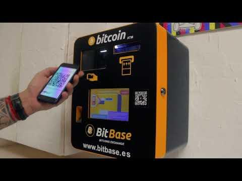 Compra bitcoins en cajero automático de BitBase