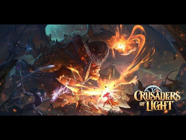 Crusaders of Light - Game Reveal Trailer | NetEase Games
