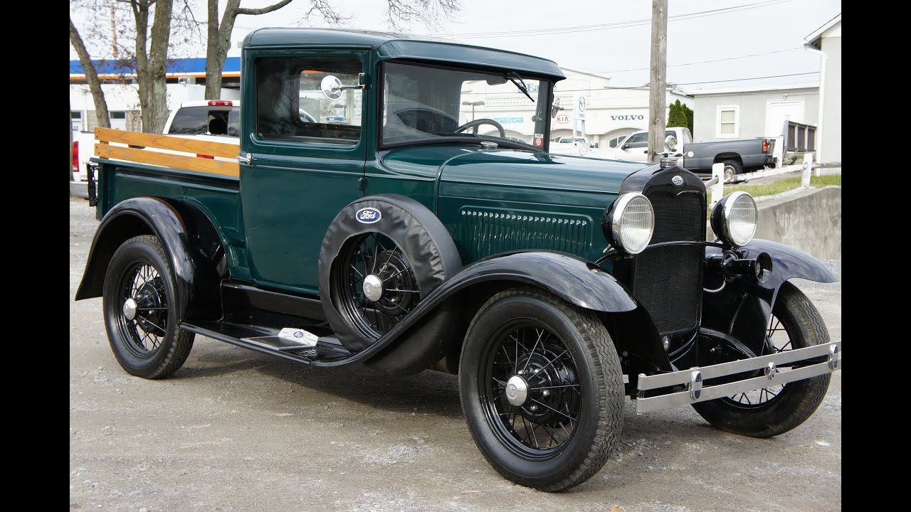 The Cars Band Cover Wallpaper Review Of 1931 Ford Model A Budd Commercial Pick Up Steel
