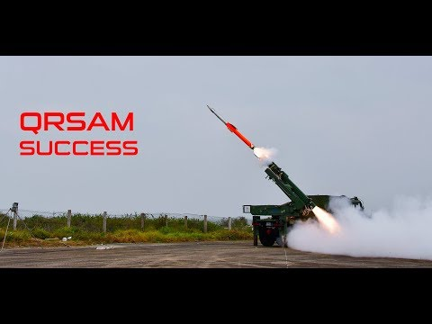 India Successfully Test Fired Two QRSAM | Congratulate DRDO
