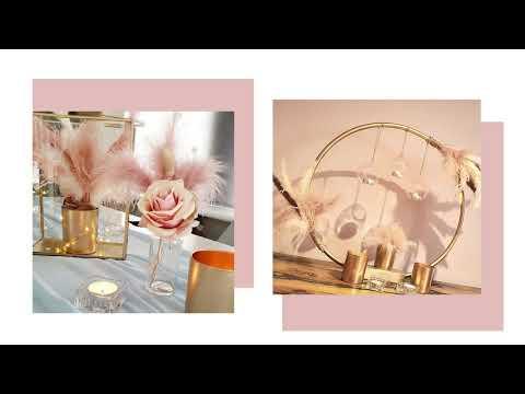 pink blossom weddings