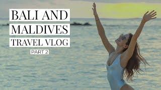 TRAVEL VLOG | BALI & MALDIVES PART 2 | JEN SELTER