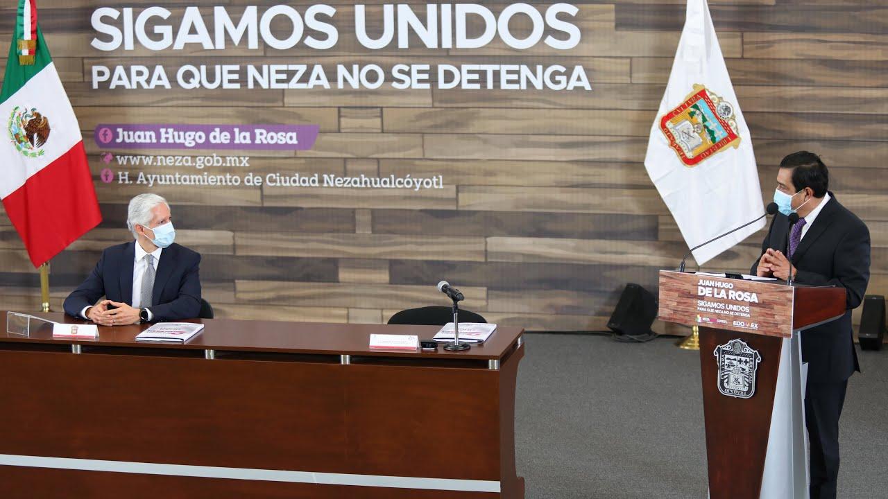 Mensaje en el Segundo Informe de Juan Hugo de la Rosa, Presidente Municipal de #Nezahualcóyotl.