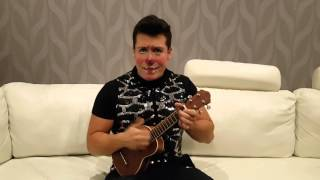 Costel- Busca lo más vital (ukulele cover El Libro de la Selva)(baloo TinTan)