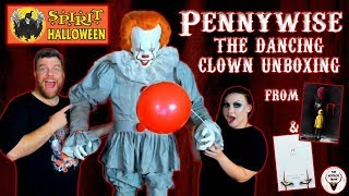 Spirit Halloween Store PENNYWISE ANIMATRONIC UNBOXING - The Horror Show