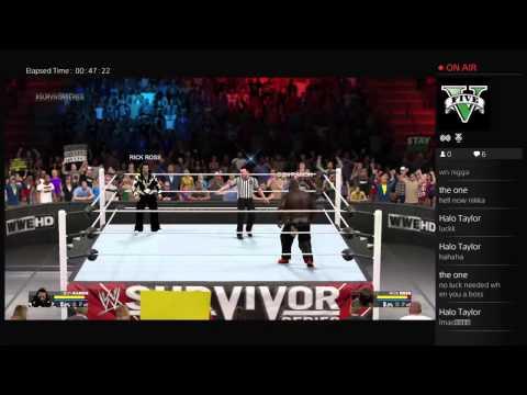 WWE2K15  RICK ROSS KICKING ASS