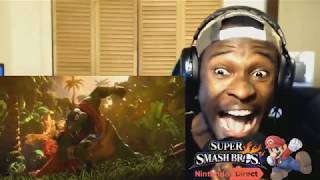 King K.Rool in Smash Bros Ultimate Reveal Live Reaction OMG!!!!!!