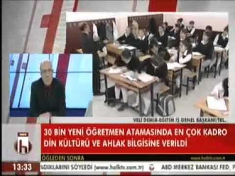 Eğitim İş Genel Başkanı Veli Demir Öğretmen Atama Kontenjanlarını Değerlendirdi