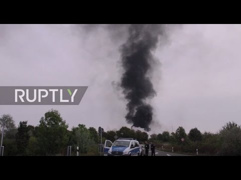 Germany: One person missing after BASF chemical plant fire
