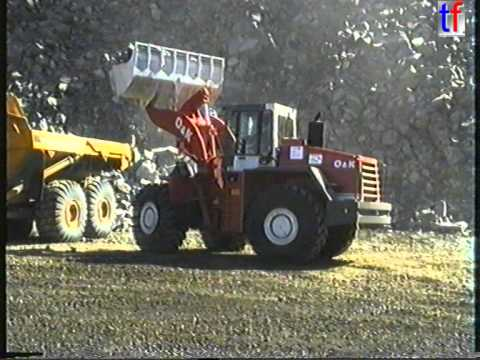 O&K L45 Mighty Wheel Loader - Quarry Action / Steinexpo, Germany,  05.09.1996.