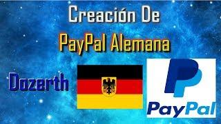 Creando PayPal Alemana   Dozerth - 2017/Jul